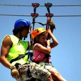 Tandem Riding for Younger Children
