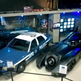 Batmobile & Gotham Police Car