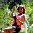 Ziplining Fun!