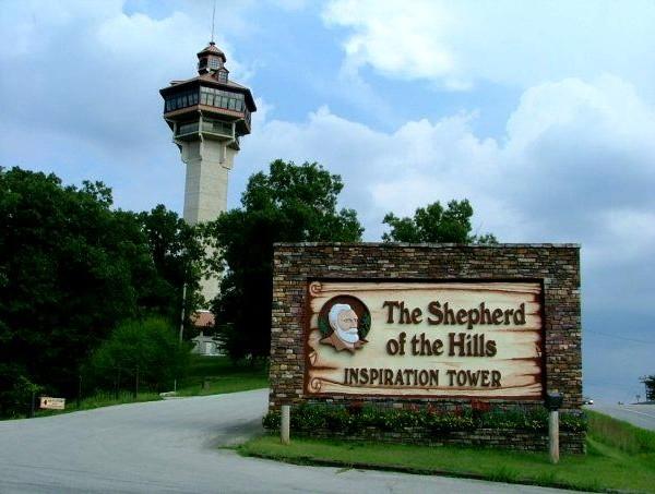 Shepherd of the Hills Inspiration Tower