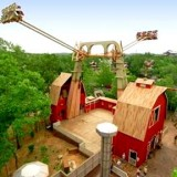 The Giant Barn Swing!