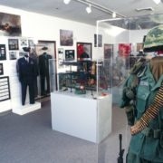 Military Artifacts on Display