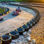 The 3,500' Xtreme Racing Track