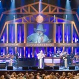 Performing at the Grand Ol' Opry!