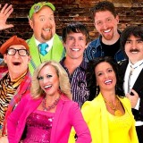 The Cast of Comedy Jamboree