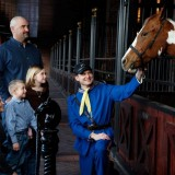 Visit the Horse Stables!