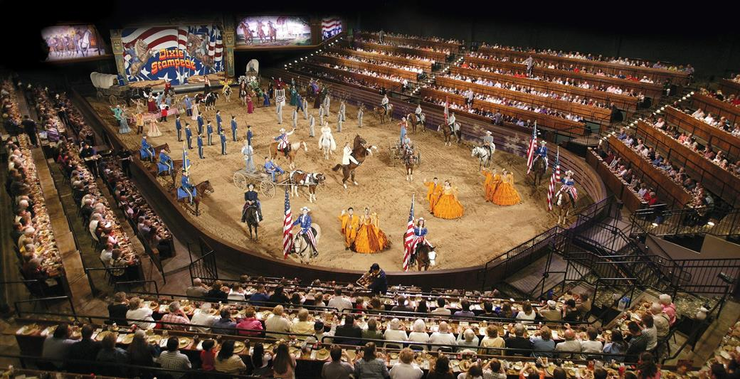 The Main Arena Dixie Stampede Servers