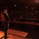 Cowboy on Stage