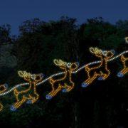 Branson's Drive-Through Christmas Light Display!