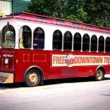 Free Downtown Branson Trolley