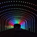 Drive-Through LED Tunnel!
