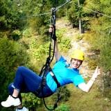 Rider Ziplining
