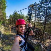 Zip & Soar through the treetops!