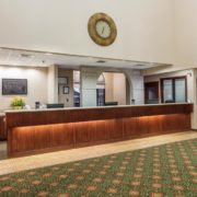The Hotel Front Desk & Lobby