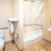 Hotel Shower/Tub Combo