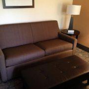 Sleeper Sofa in King Room