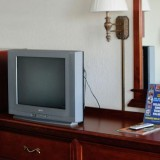 Motel Room TV & Dresser