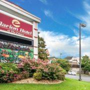 Clarion Hotel Entrance & Facade