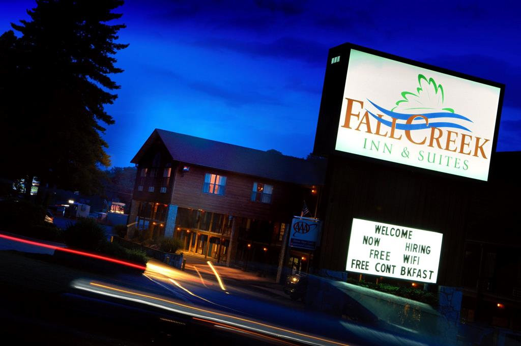 Fall Creek Inn & Suites Promo Package