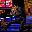 Dean Z as Elvis Presley!