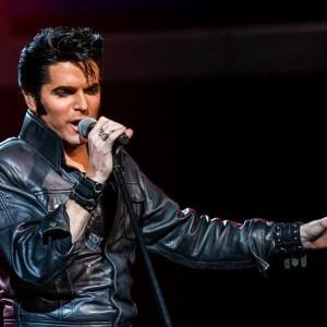 Dean Z as Elvis!