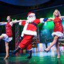 Santa in a Chorus Line?!