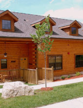Cabins at Grand Mountain – 2 Bedroom Cabin + Loft