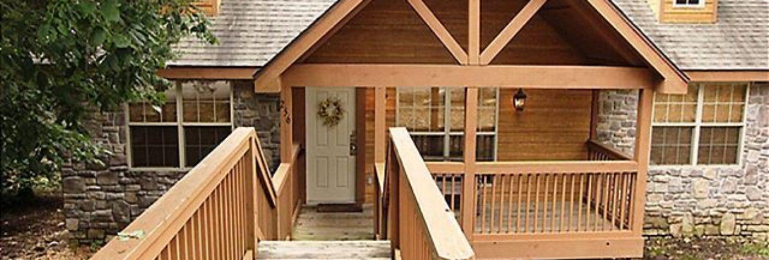 Deer haven lodge 2 bedroom cabin at stonebridge branson for 7 bedroom cabins in branson mo