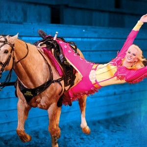 Incredible Trick Riding!