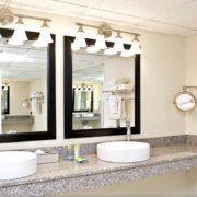 Hotel Bathroom Dual Vanities