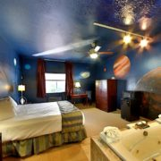 """The Observatory"" Themed Jacuzzi Room"