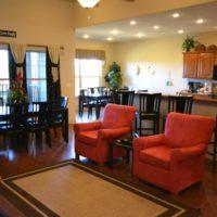 Living Room & Breakfast Bar