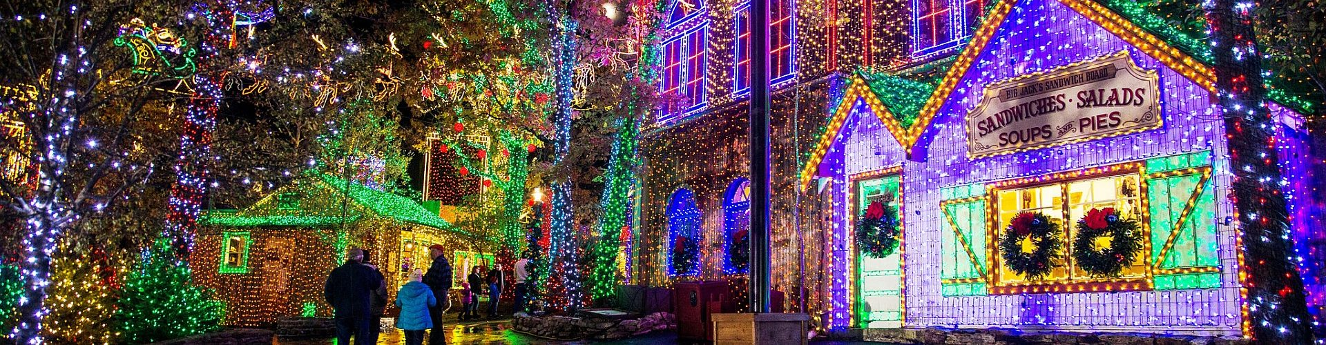 Silver Dollar City's Christmas at Midtown in Branson, MO