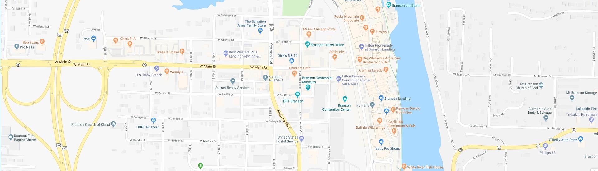 FREE Branson 2019 Map! - Branson Travel Office