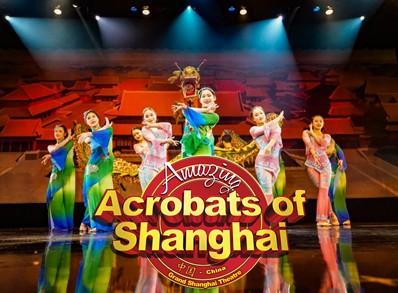 The Amazing Acrobats of Shanghai!