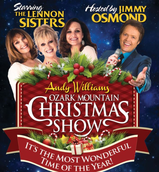 Branson Mo Christmas Shows 2020 Andy Williams' Ozark Mtn. Christmas Show   2020 Showtimes