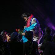 Jerry Presley as Elvis!
