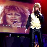As Tina Turner!