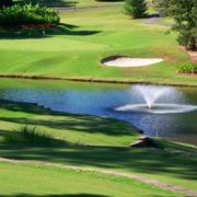 Water Features on Golf Course