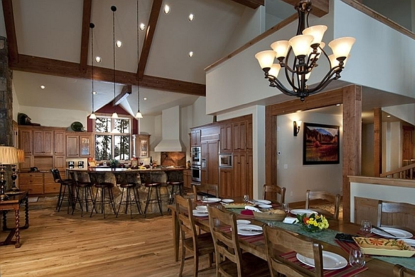Bristlecone Lodge House Interior