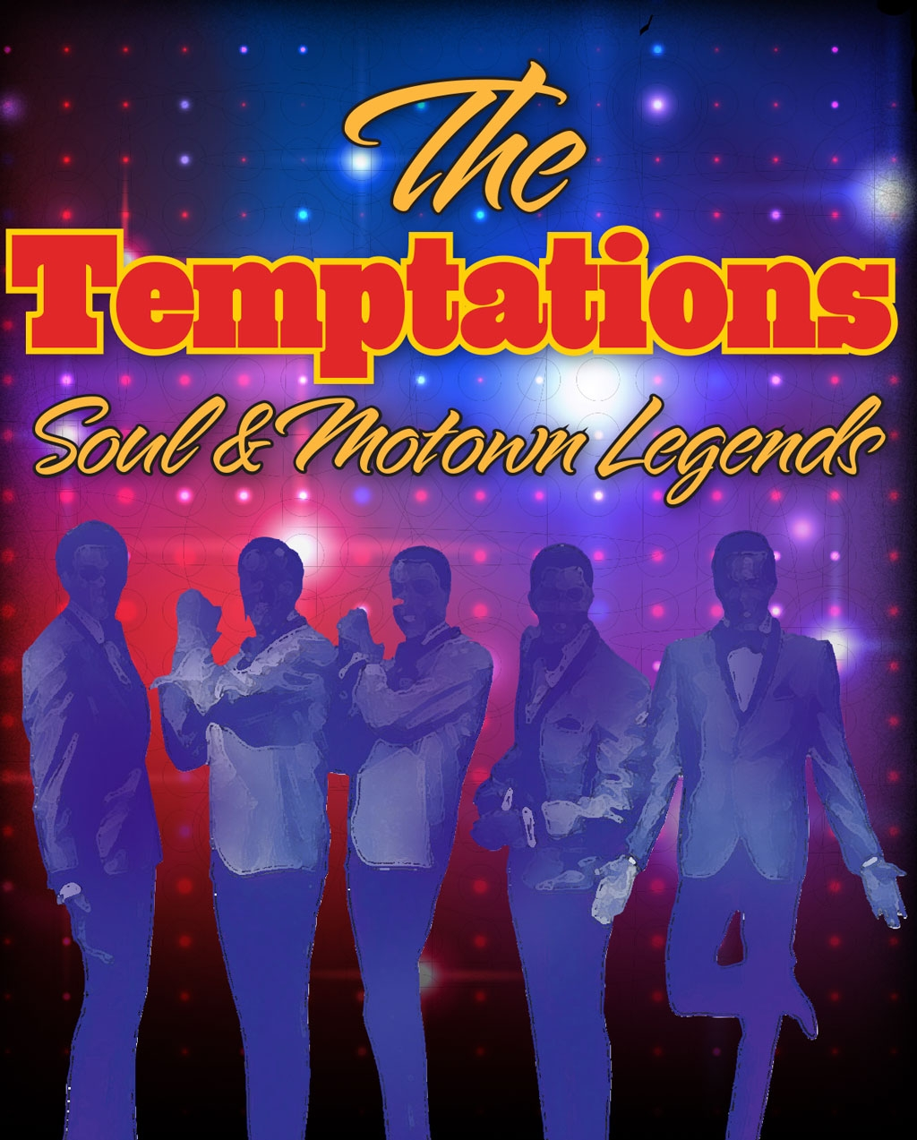 Temptations & Motown Show Promo Package