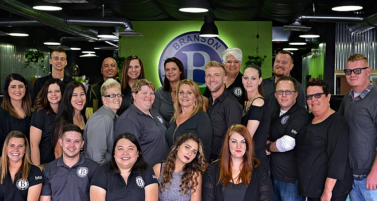 The Branson Travel Office Team