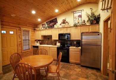 Cabins at Grand Mountain – 1 Bedroom Cabin (Studio-Style)