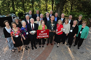Branson hosts thousands of visitors each year for class reunions.