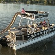 Two-Level Slide Boat!