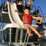 Slide Boat for Rent!