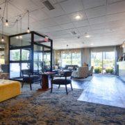 Open & Spacious Hotel Lobby