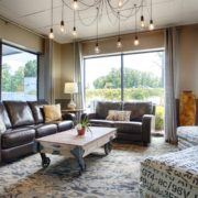 Upscale & Inviting Lobby Seating