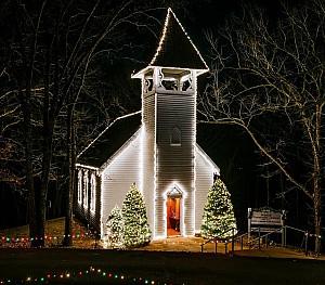Branson Trail of Lights Chapel
