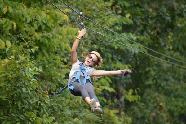 Adventure Ziplines offers a one-of-a-kind experience soaring through the treetops of Branson and the Ozark Mountains!